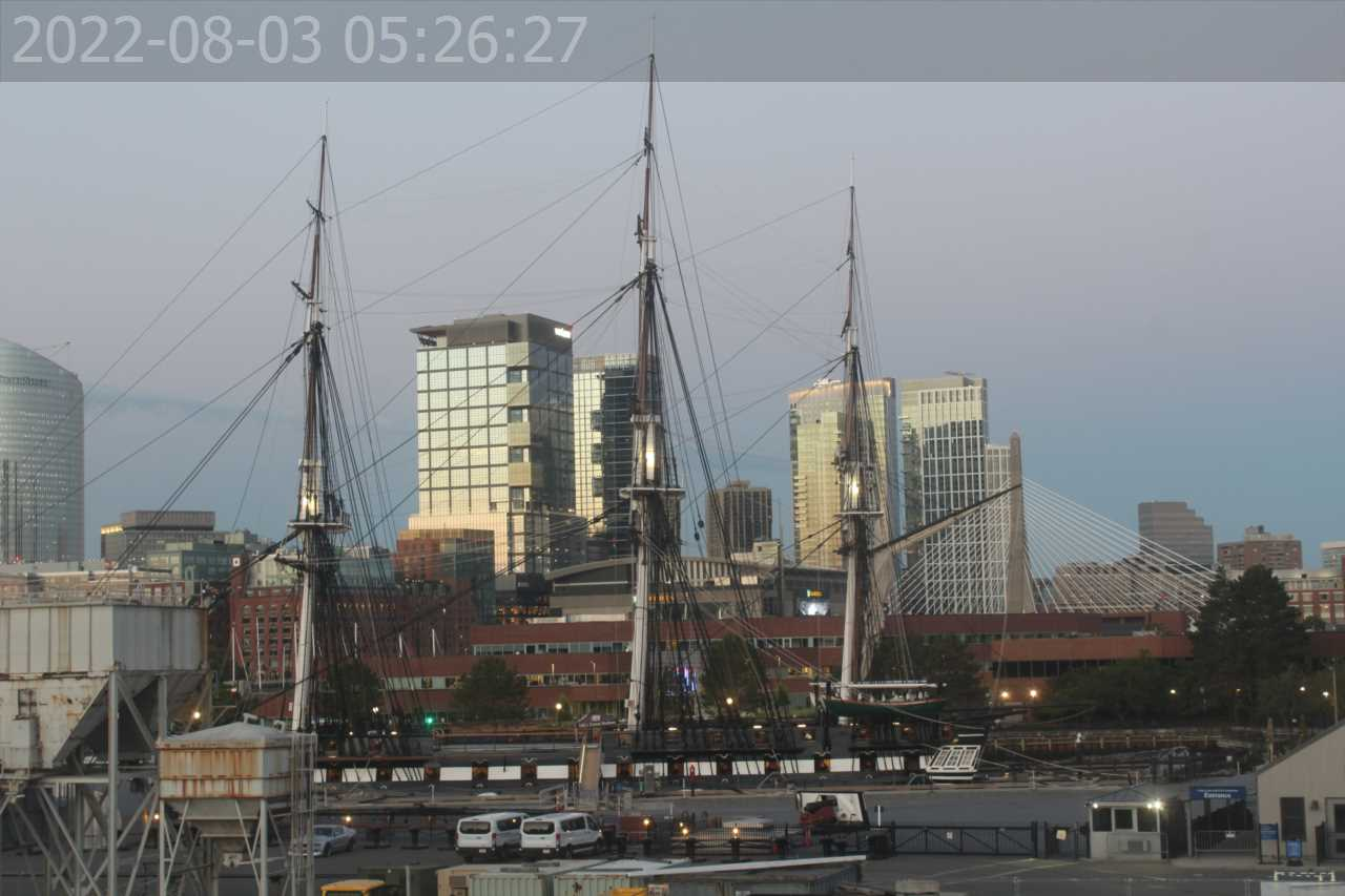 USS Constitution Webcam